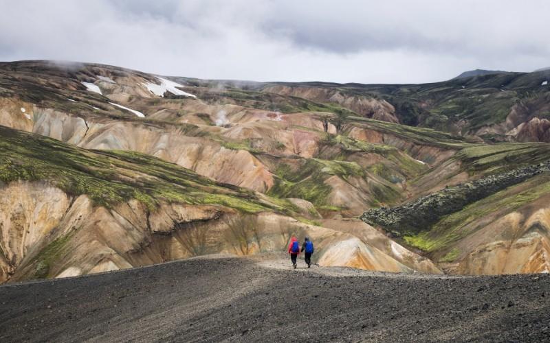 JOUR 4 ET 5 : KIRKJUBAEJARKLAUSTUR ET SES ENVIRONS Landmanalaugar - Parc National de Skaftafell – Systrafoss