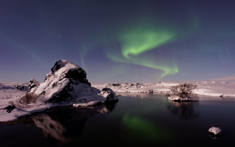 JOUR 6 : Mývatn – Akureyri/Skagafjörður Étranges formations volcaniques – Phénomènes géothermiques –– Cascade dite «des Dieux » - Akureyri la capitale du Nord