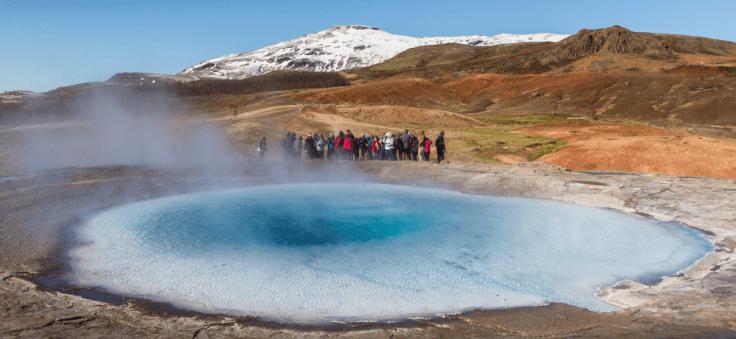 Jour 2 : Hverageroi – Gullfoss – Geysir – Thingvellir – Borgarfjorour