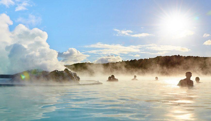 blue lagoon Péninsule sud (Reykjanes Peninsula)