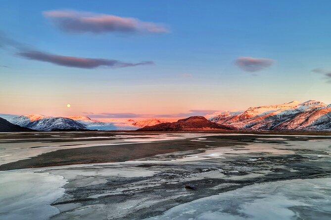 Visite privée d'une journée complète des glaciers Vatnajökull au départ de Höfn