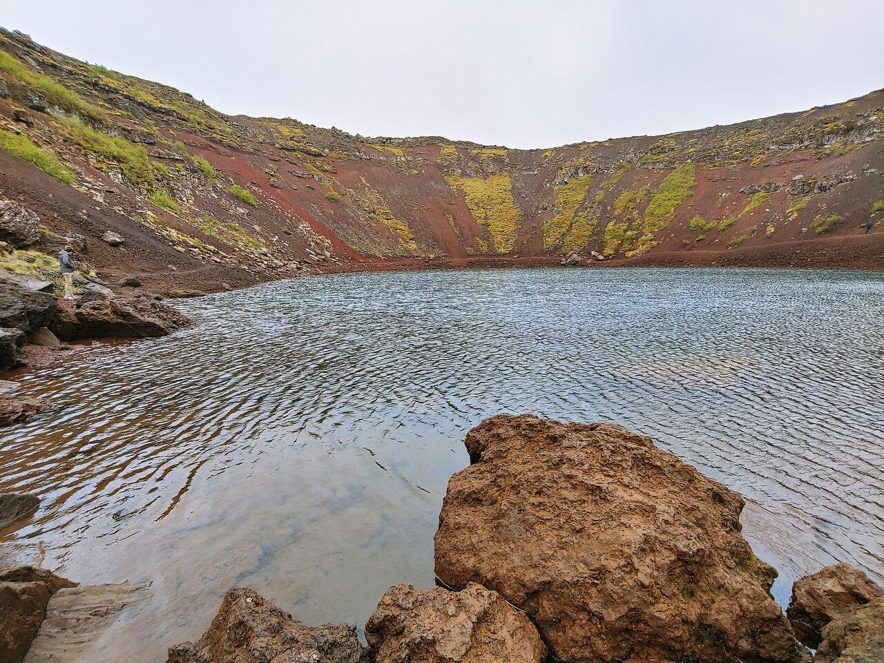 Une journée pour découvrir le cercle d'or, le cratère de Kerid et le Blue Lagoon depuis Reykjavik