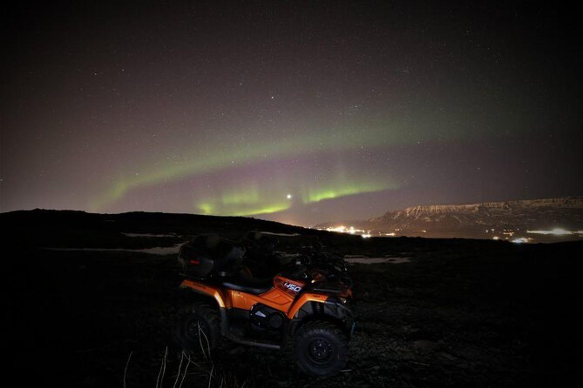 Circuit Northen Light en quad