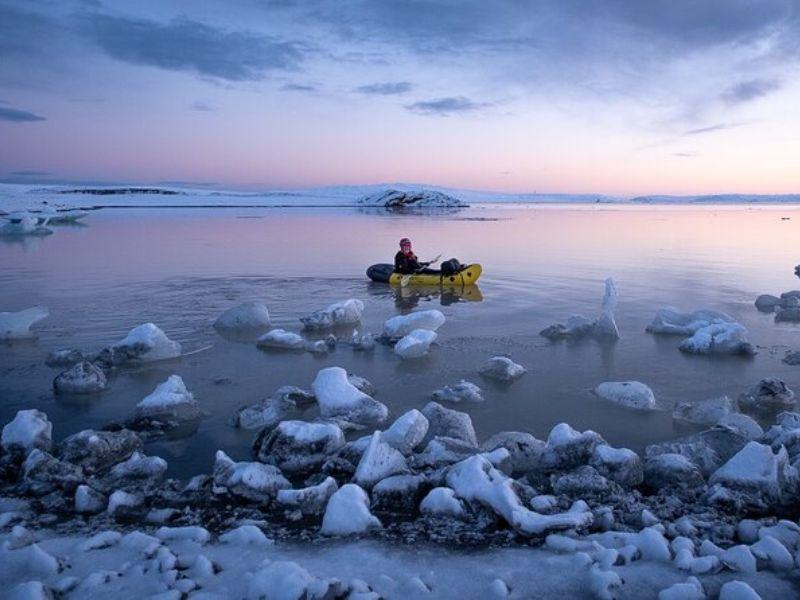 Glacier Kayak Islande