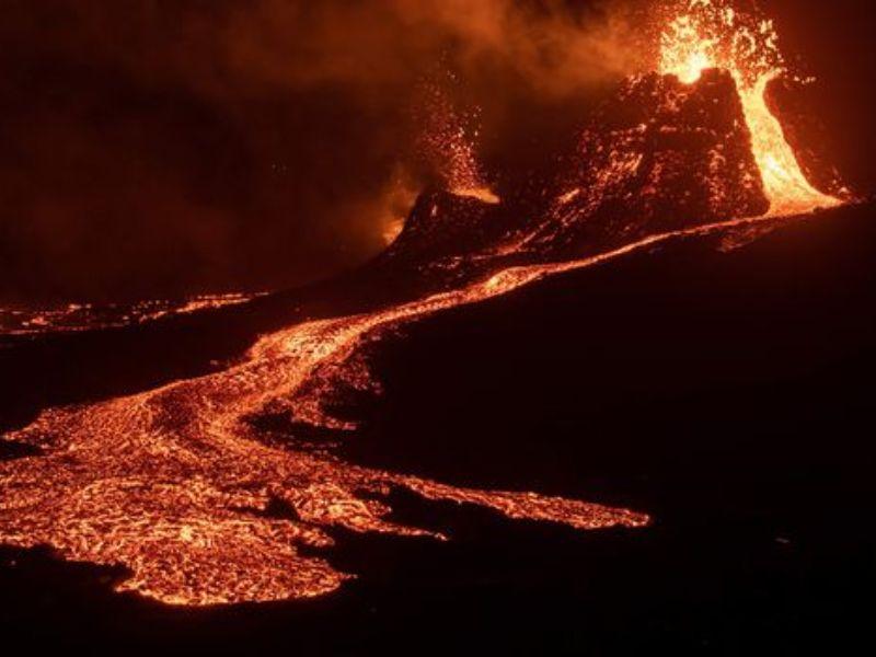 Visite active du volcan Geldingadalur