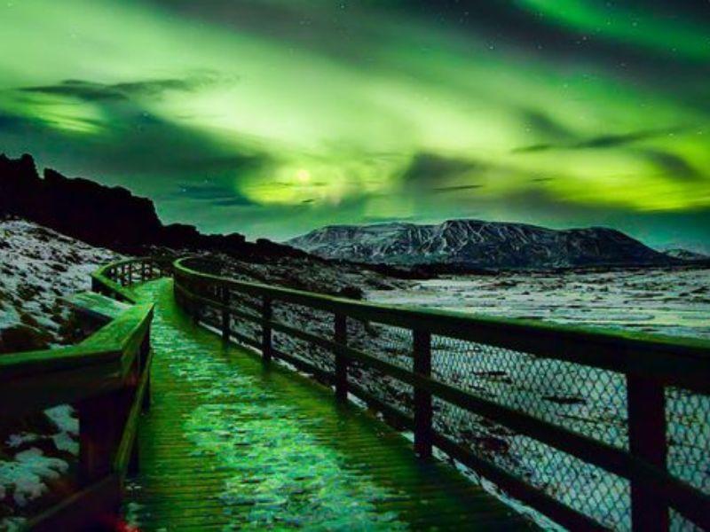 Visite en petit groupe des aurores boréales