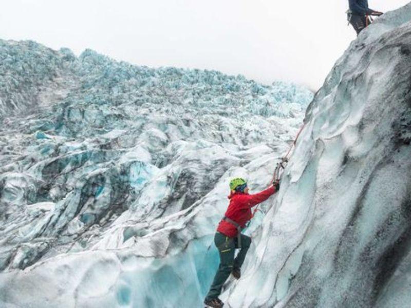 Escalade sur glace Skaftafell et randonnée sur glacier
