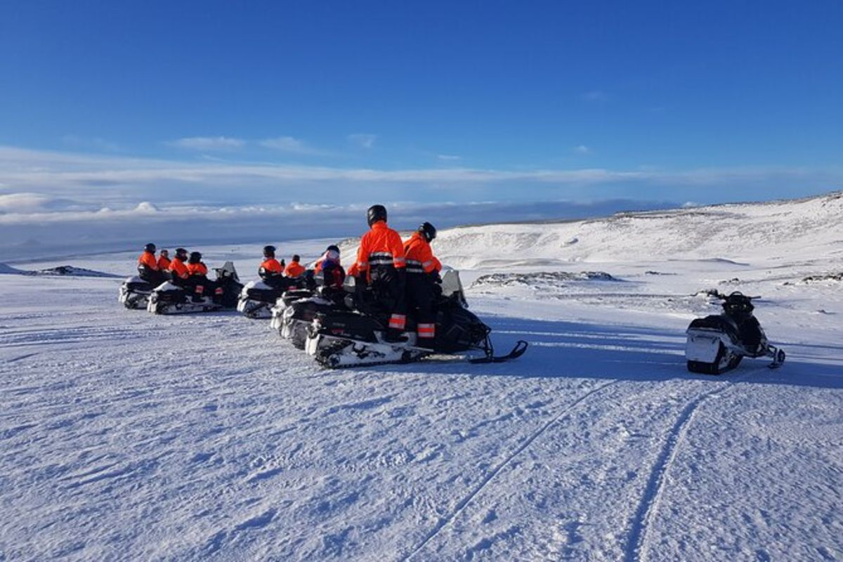 Motoneige à Eyjafjallajökull