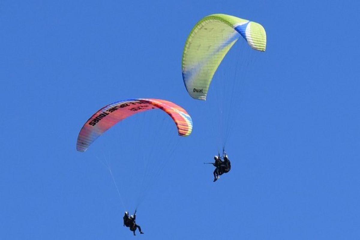 Vols en parapente en tandem au départ de Vik
