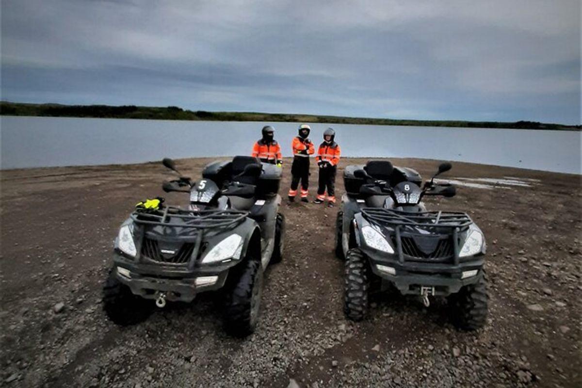 Excursion en quad de 2 heures au départ de Reykjavik