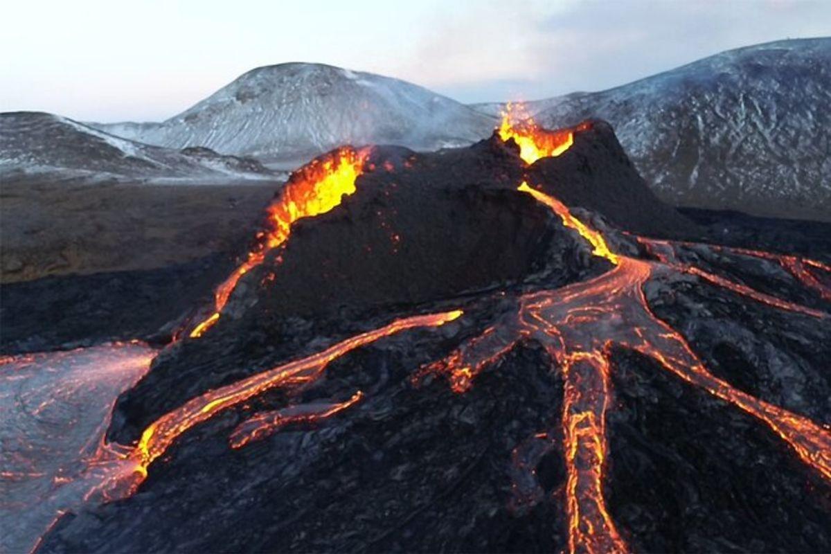 Randonnée active sur le volcan Fagradalsfjall au départ de Reykjavik