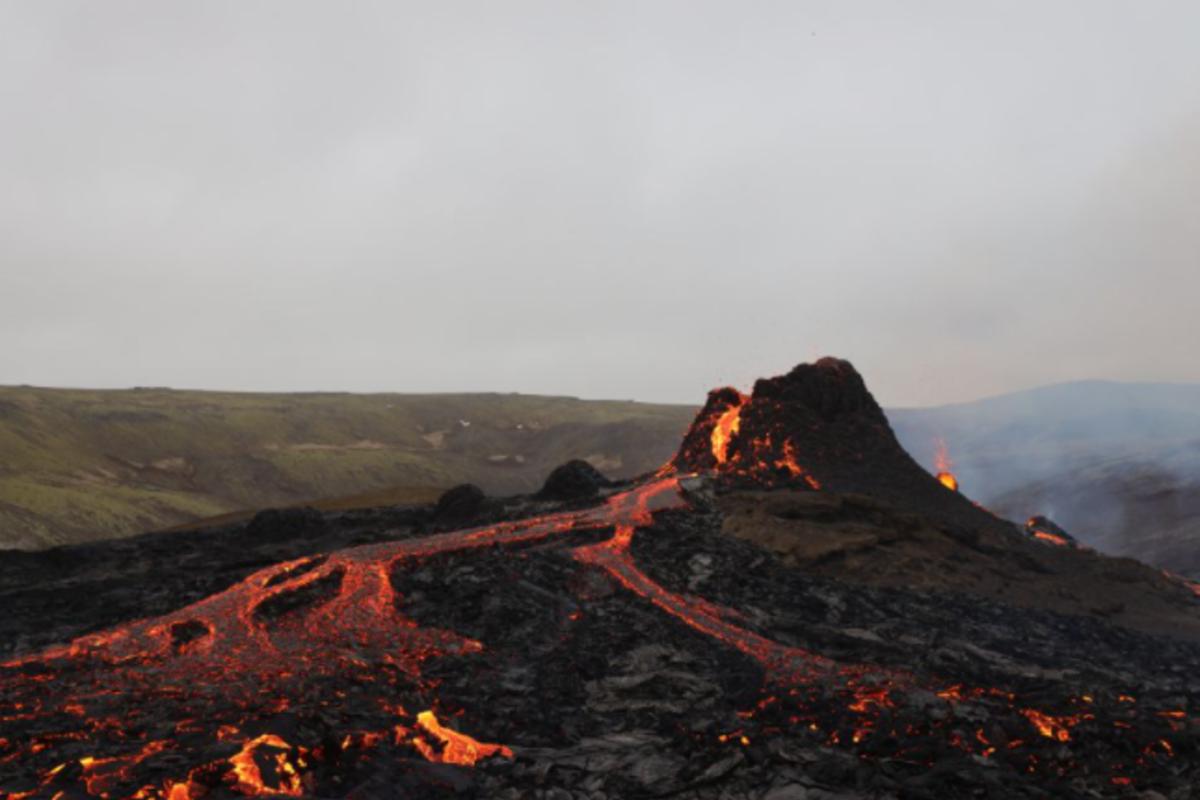 Reykjavík: randonnée sur le volcan en éruption et visite de Reykjanes