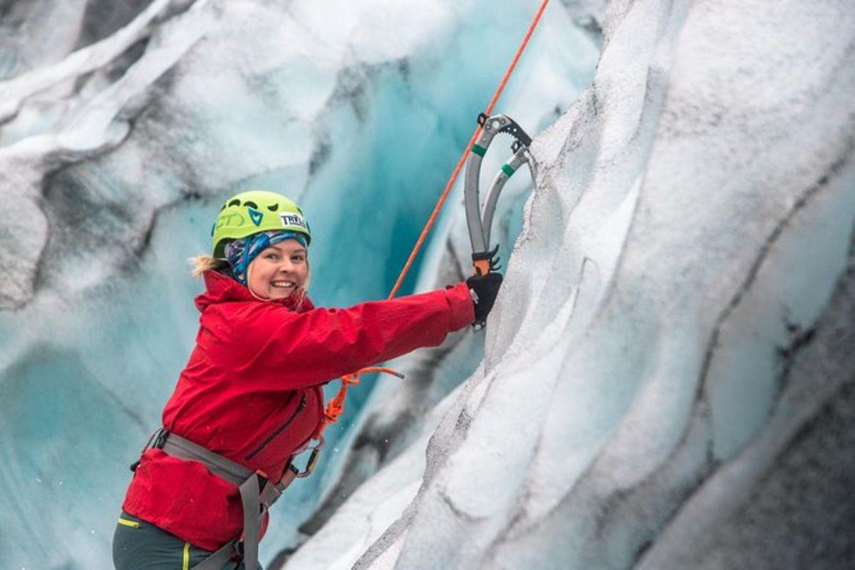 Escalade sur glacier et randonnée à Skaftafell