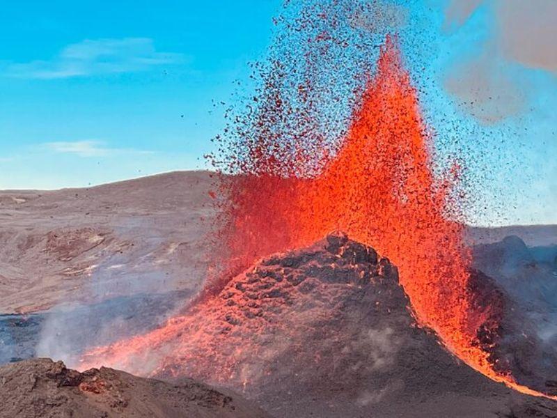 Visite privée d'une journée - Expédition au volcan Fagradalsfjall en Islande
