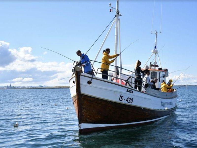 Reykjavík, pêche en mer