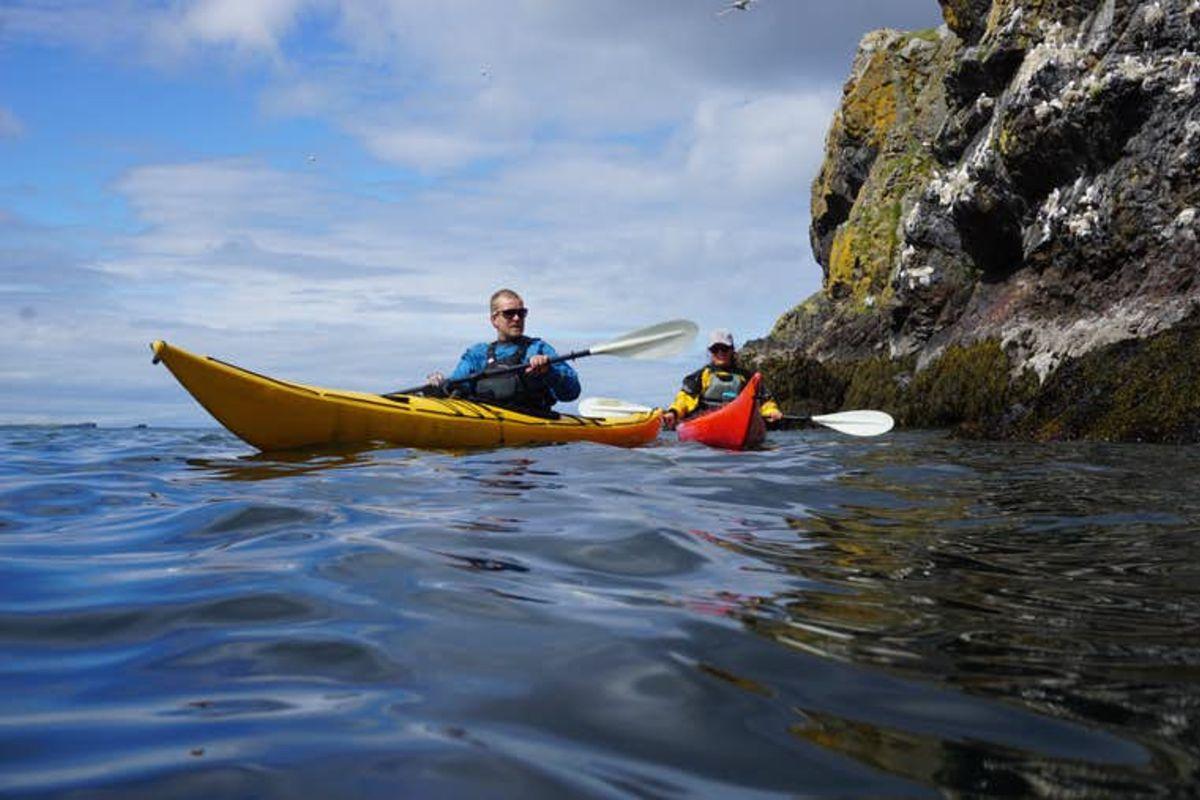 Kayak de mer à Snaefellsnes   Baie de Breiðafjörður