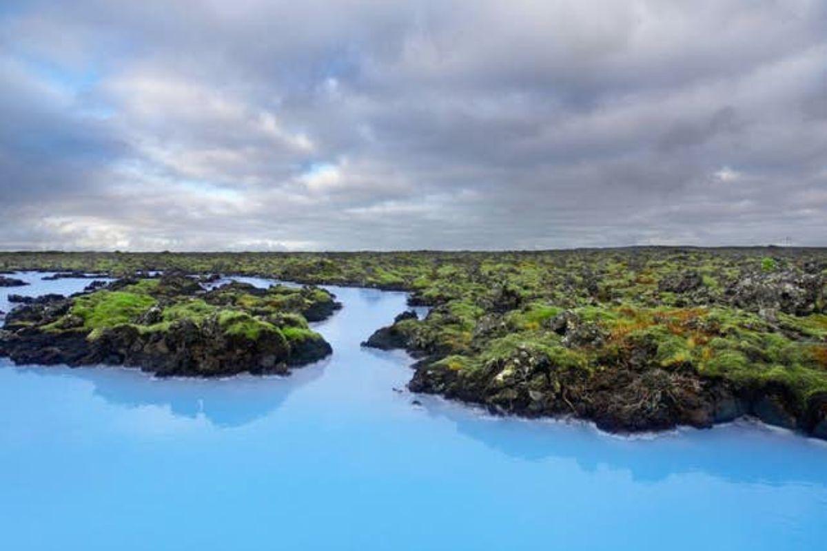 Jour et nuit   Blue Lagoon et soirée à Reykjavik